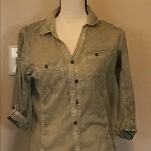 Elan button shirt